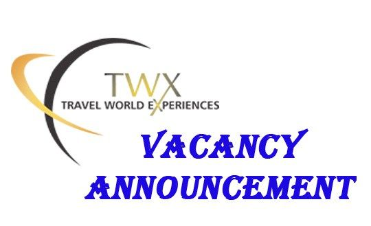Vacancy Announcement At Twx Travel World Express Company Logo