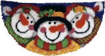 Wonderart Latch Hook Kit 33 X16 1 2 Half Round Merry Men Co Uk Kitchen Home