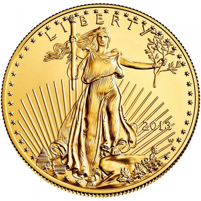 Random Year American Gold Eagle Em 2020