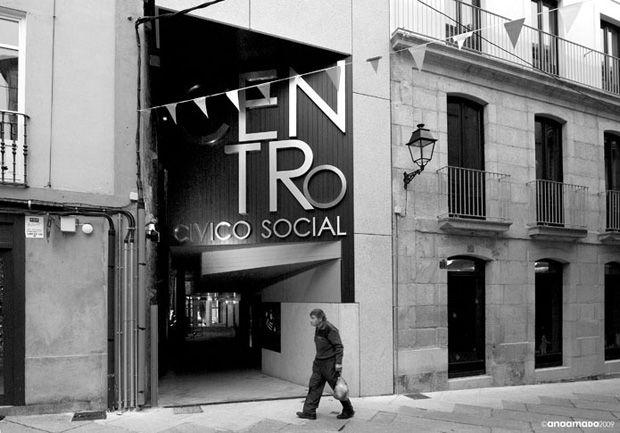 Centro Cívico e Social no casco vello | Manuel Gallego Jorreto | Ourense (2009) | Foto: Ana Amado