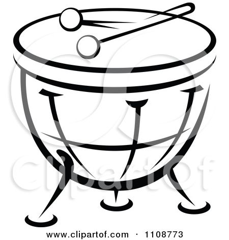 Drums Clipart Black And White Google Search Black And White Google Clipart Black And White Side Table