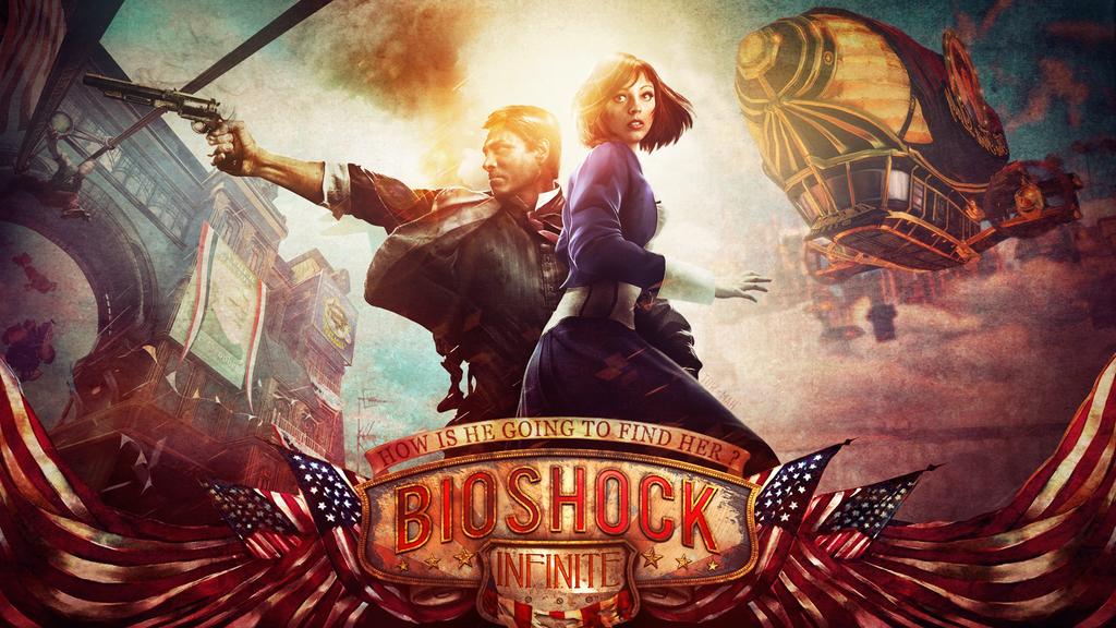 Bioshock Infinite Background Wallpapersafari Bioshock Bioshock Infinite The Wolf Among Us