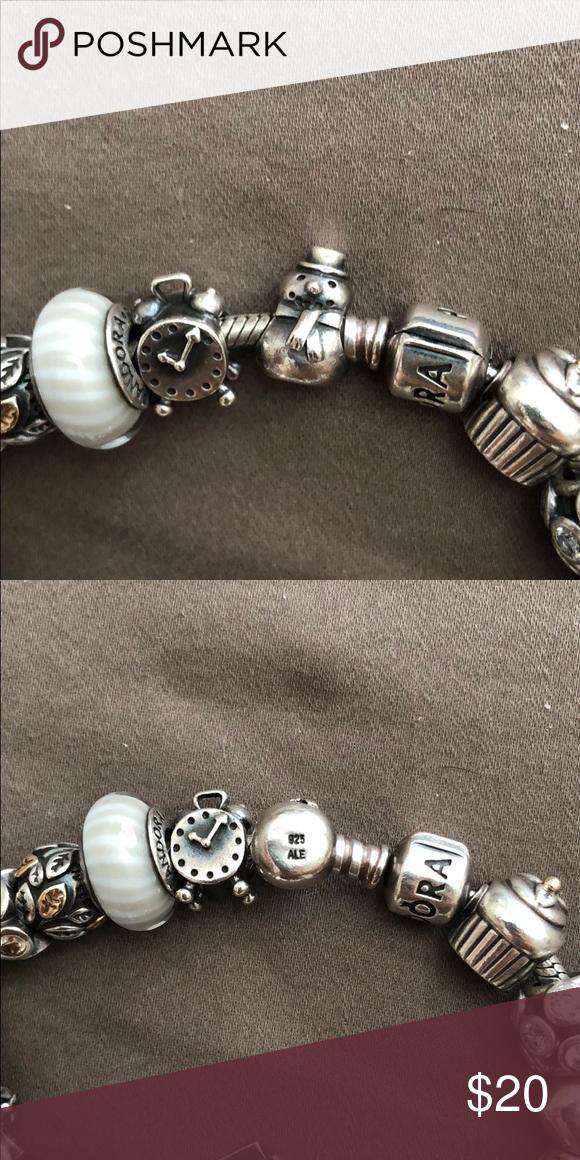 73f742fba Pandora snowman charm Authentic silver charm Pandora Jewelry Bracelets