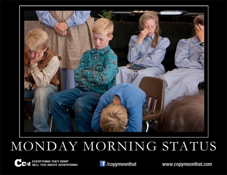 Monday Morning Status Meme | Cc:'d | Pinterest