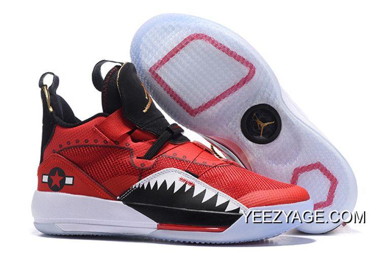 official photos 6d5fa 80888 Air Jordan 33 XXXIII Future Of Flight Bright Red/Black-White ...