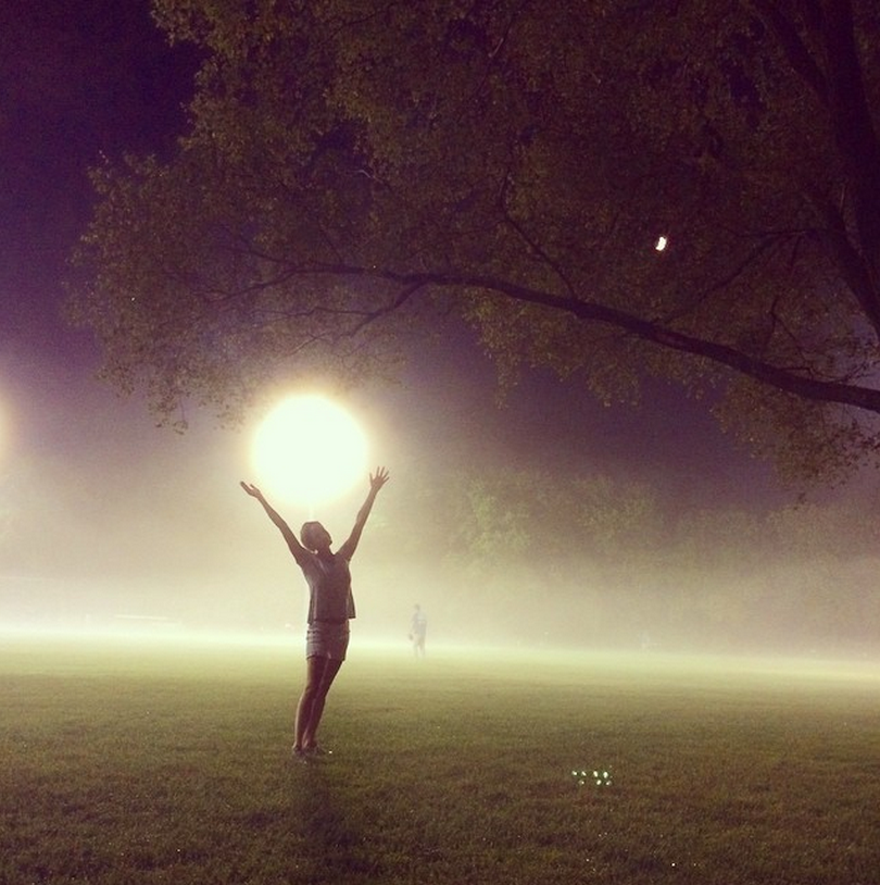 Doing a little moonwalk in the fog on TO's lakeshore tonight. Never get fog here and when there is, makes me feel like I'm home in #Halifax. #Toronto #Fog #Beautiful #night! www.kimdeon.com