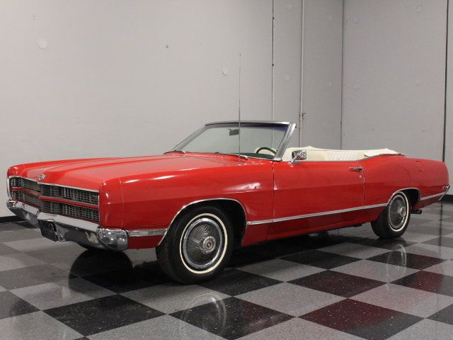 1969 Ford Galaxie XL 390 V8 3 Speed Automatic Convertible - CarBiid.com