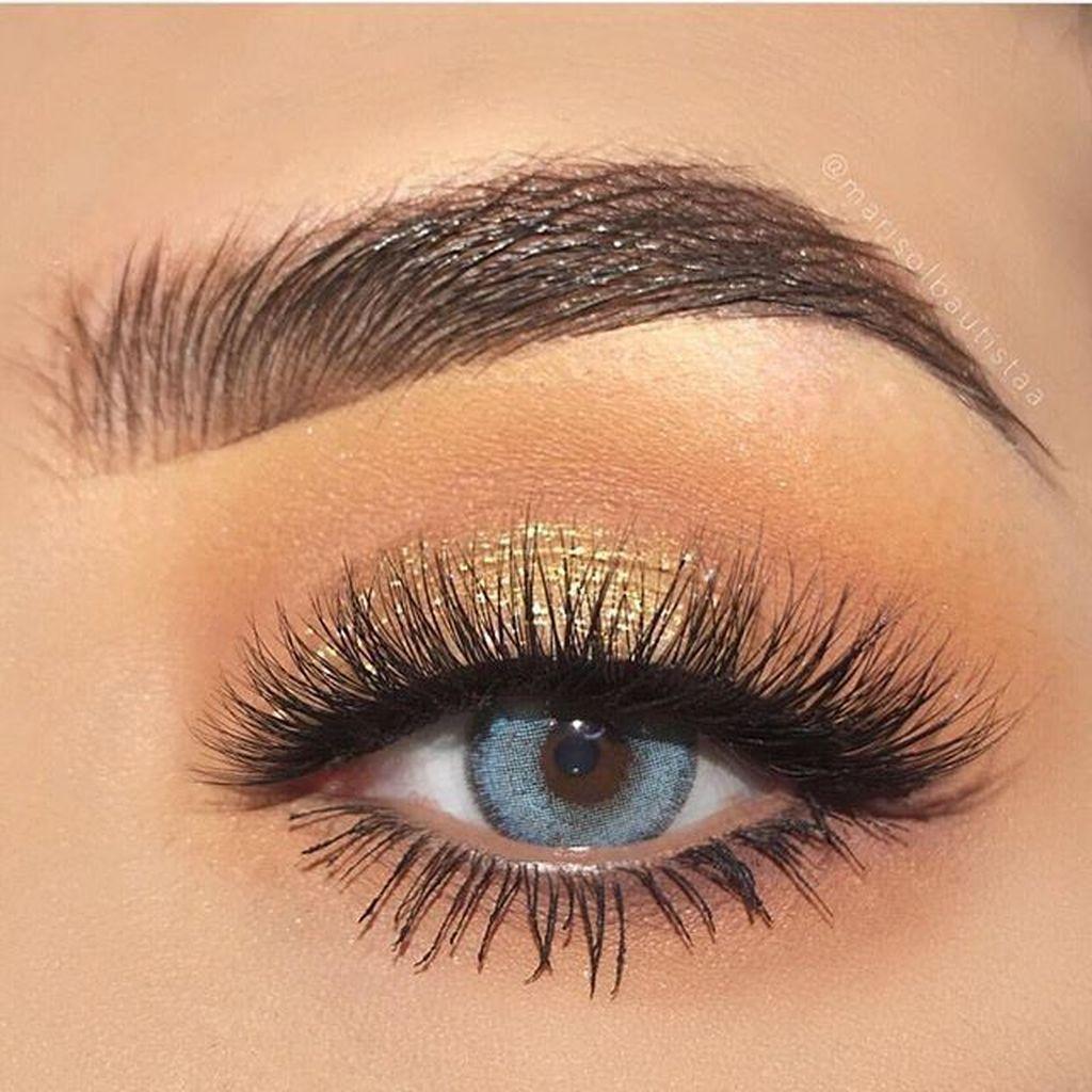 41 Awesome Blue Eye Makeup Ideas #dancemakeup