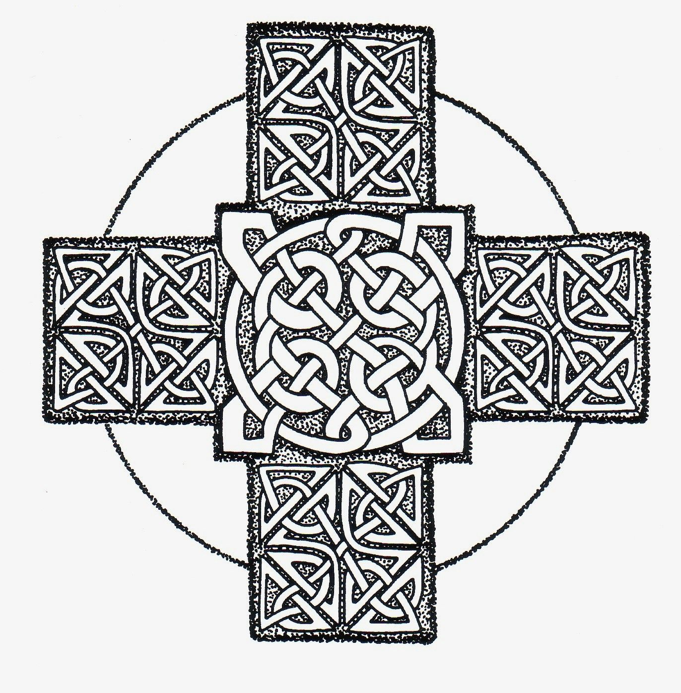 Celtic Cross  http://www.freeceltic.com/wall/celtic%20crosses/celtic-cross-picture-46.jpg
