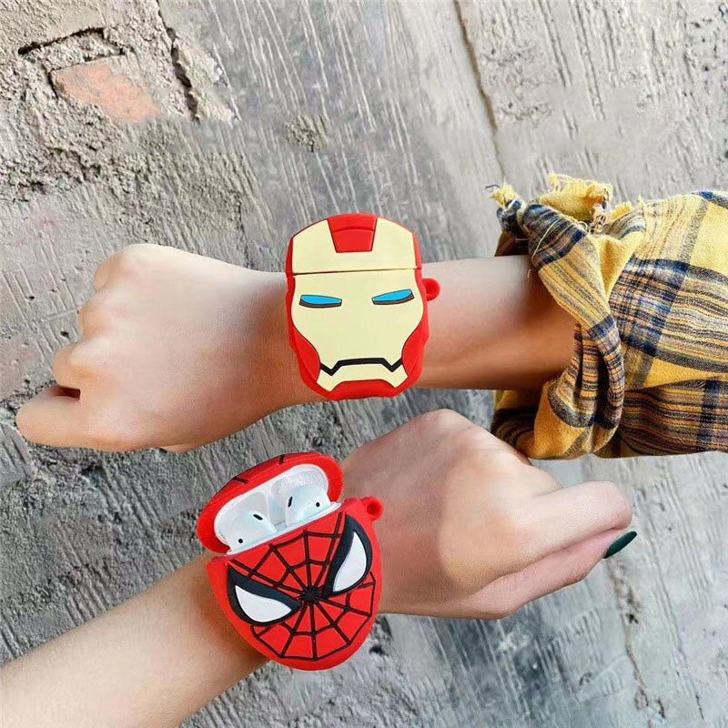 For Airpods Pro Case 3d Groot Watchband Wrist Band Cartoon Soft