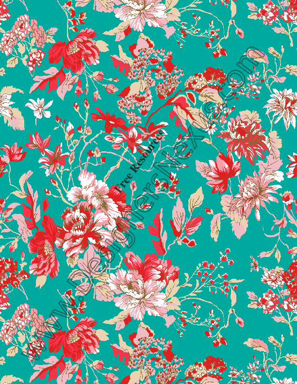 V62 Free Seamless Floral Pattern For Photoshop Fabric Patterns Seamless Patterns Fabric Textures