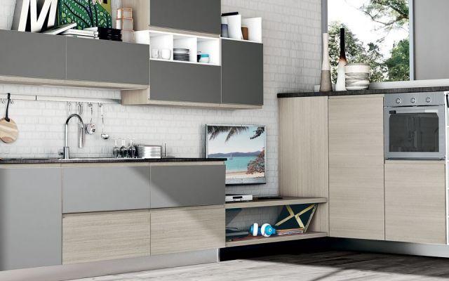 Arriva CREO, il nuovo marchio di Cucine Lube | Pinterest | Kitchen ...