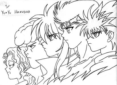 - Yu Yu Hakusho Coloring Pages Inspirational, Coloring Pages, Dragon Ball  Image