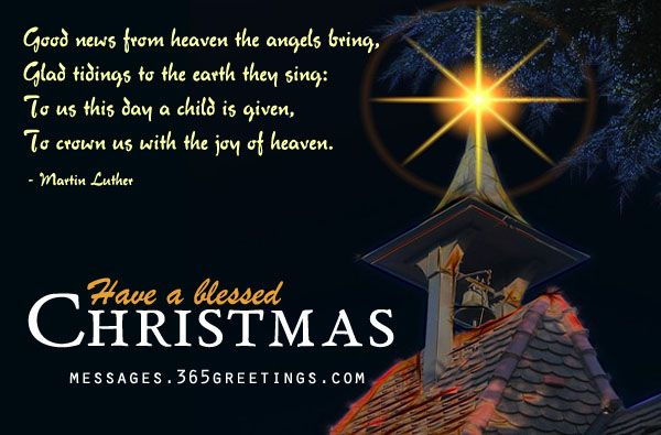 Christian christmas wishes messages