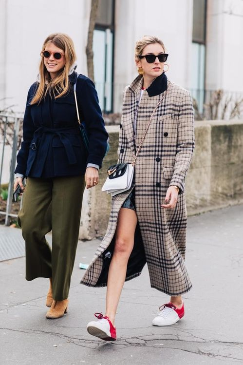 2019 year for girls- Style street coat trends fall