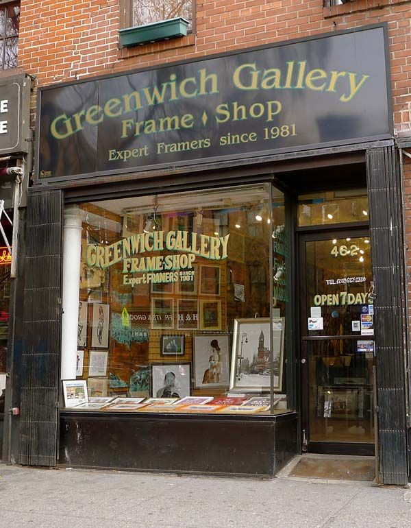 Greenwich Gallery Frame Shop - selling lots of my originals & prints ...
