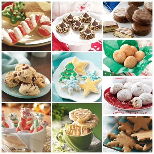 Our Top 10 Christmas Cookie Recipes Cookies Cookies Christmas
