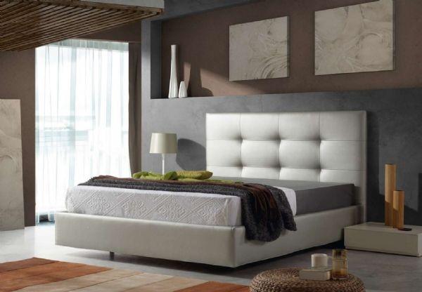 cama tapizada piel 10 - cacebero polipiel,piel o tela | Camas ...