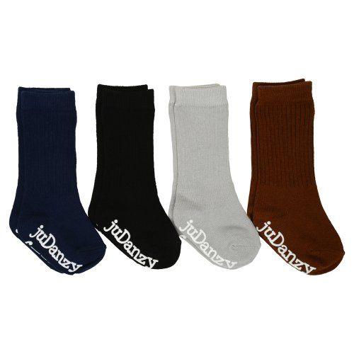 157fbee81 juDanzy boys ribbed knee high neutral socks 4Pack 06 Months ...