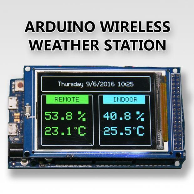 Arduino wireless weather station projekte