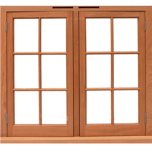 Wooden Window With Frame Open Style Hinged Rs 7363 20 Window Design Wooden Window Design Wooden Windows