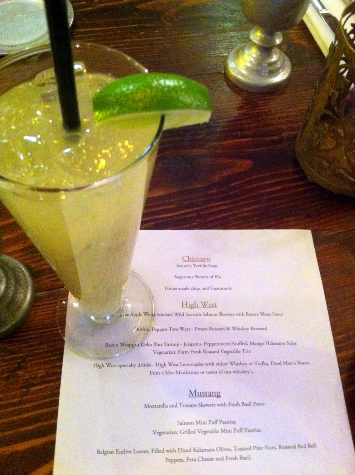 Chimayo Restaurant in Park City, UT has a margarita that puts all others to shame!