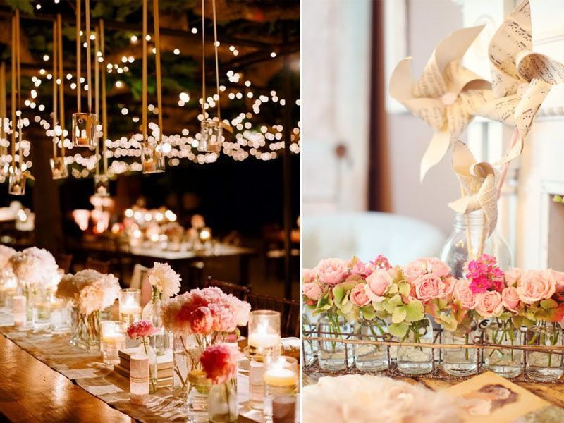 Creative Wedding Centerpieces Yes Baby Daily Reception Decor