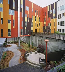 Affordable Housing Does Not Have To Look Like Plain Boxes Facade Design Apartment Architecture Architecture