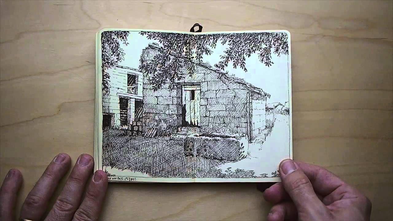 Moleskine sketchbook