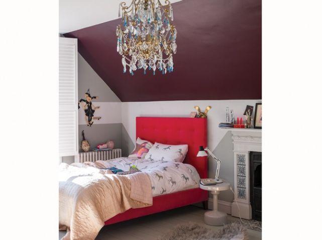 Chambre  On Mise Sur Des Murs Colors  Elle Dcoration  Plafond