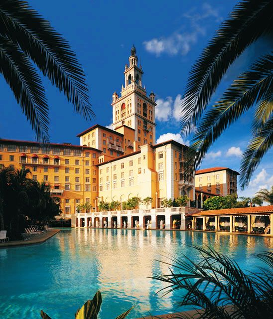 Biltmore hotell, Coral Gables, Miami, Florida. The best brunch on sundays, and a wonderful pool !