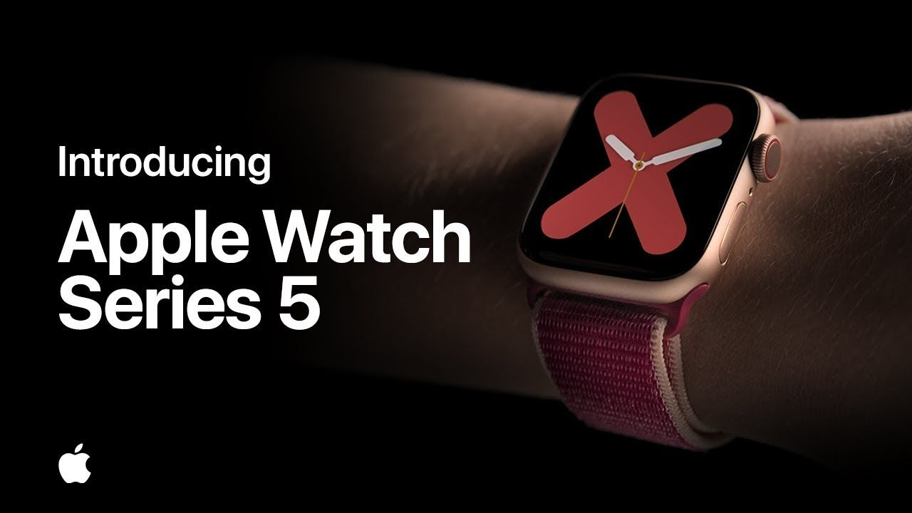 Introducing Apple Watch Series 5 Planos, Videos, Tecnologia