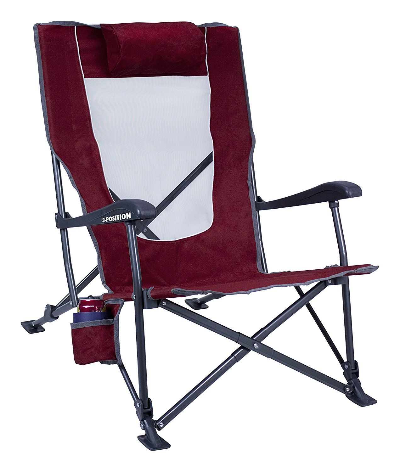 GCI Outdoor LowRide Recliner, Cinnamon *** This is an