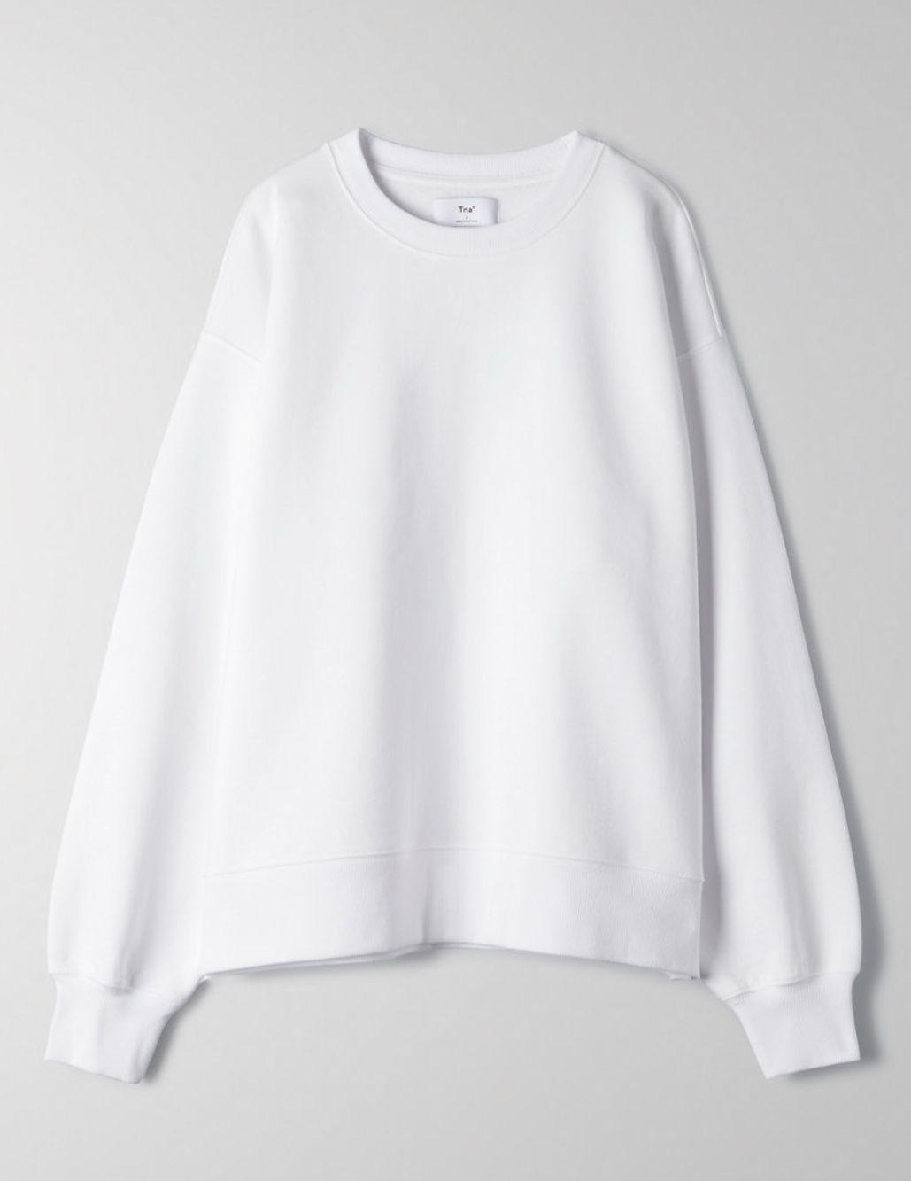 Cozyaf Boyfriend Crew Sweatshirt Baggy Sweatshirts Sweatshirts Crewneck Outfit [ 1333 x 1029 Pixel ]