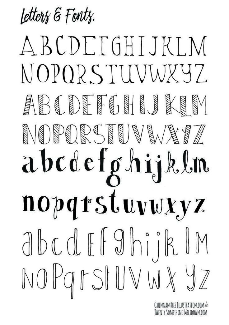 25 Unique Handwriting Fonts Ideas On Pinterest
