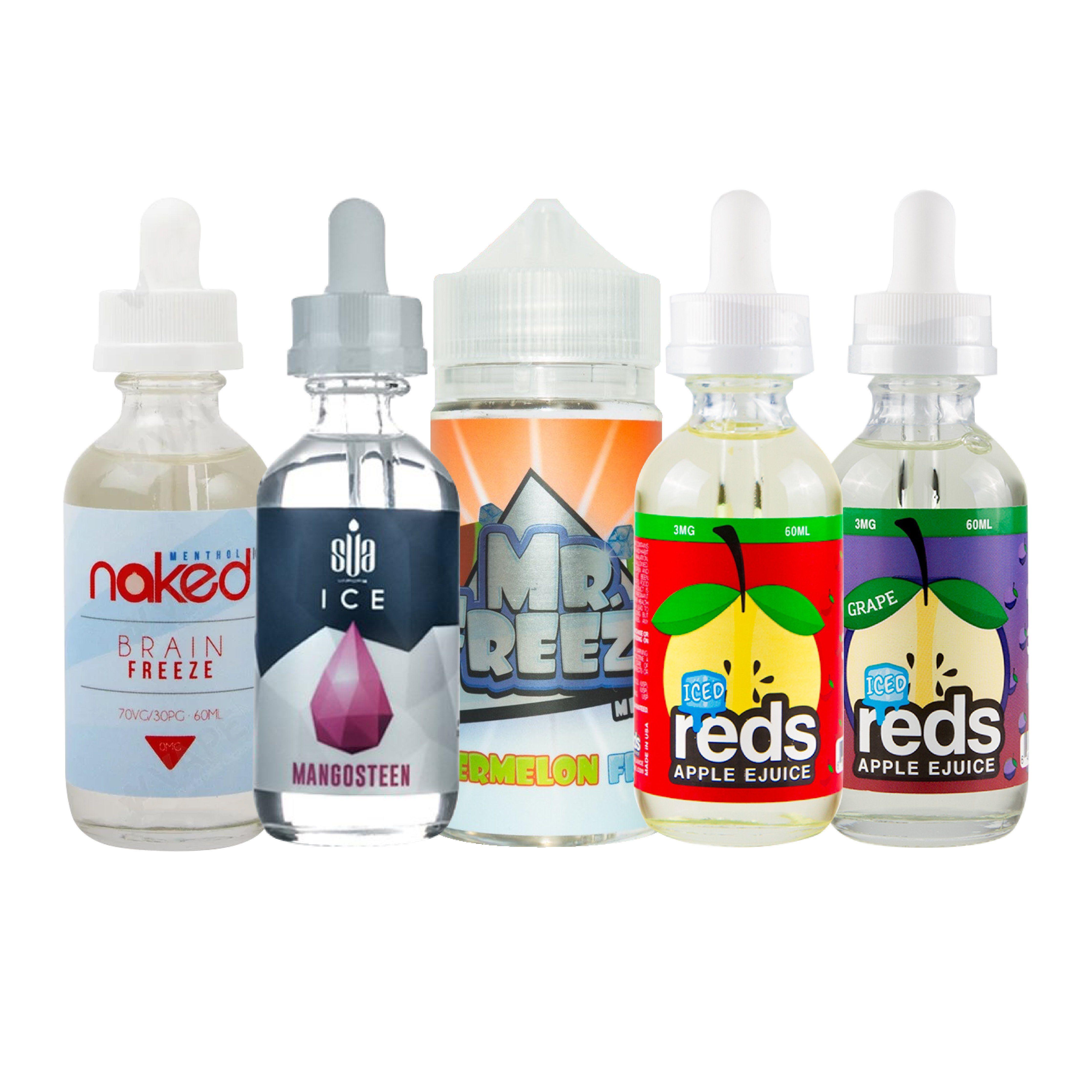 Best Selling Menthol E Liquid Bundle (340ml) #vape #bundle