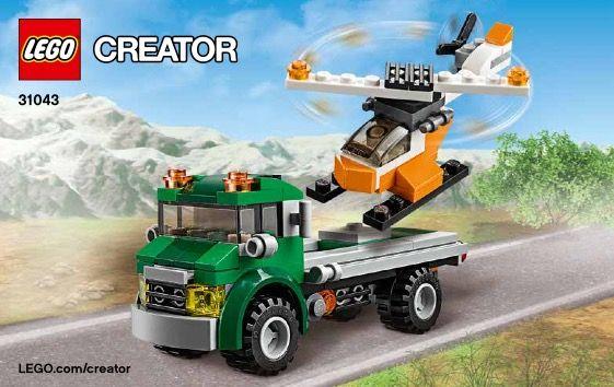 Creator Chopper Transporter Lego 31043 Lego Pinterest
