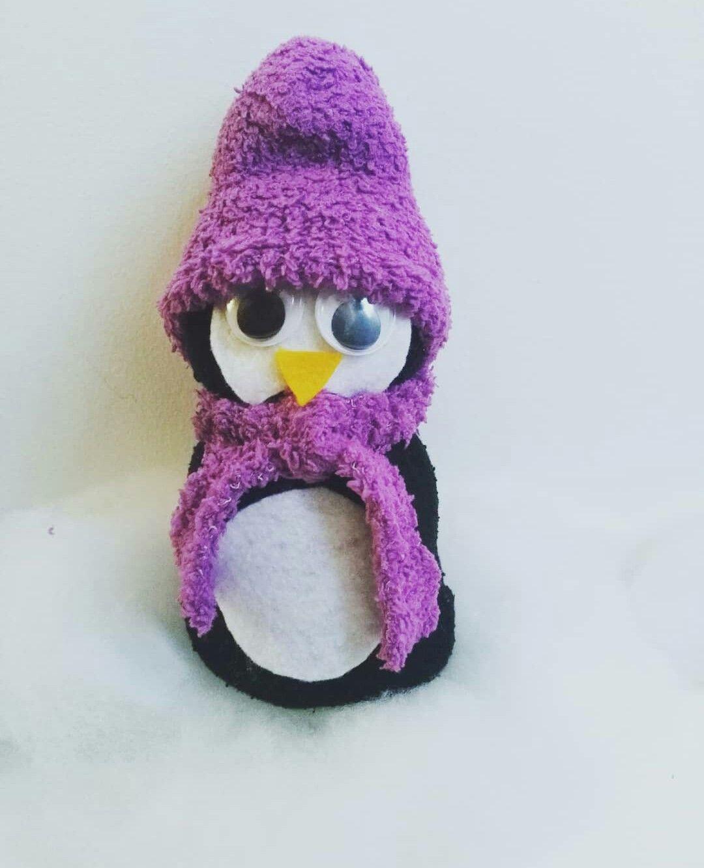 Basteln Mit Kindern Socken Pinguin Sockebschneemann War