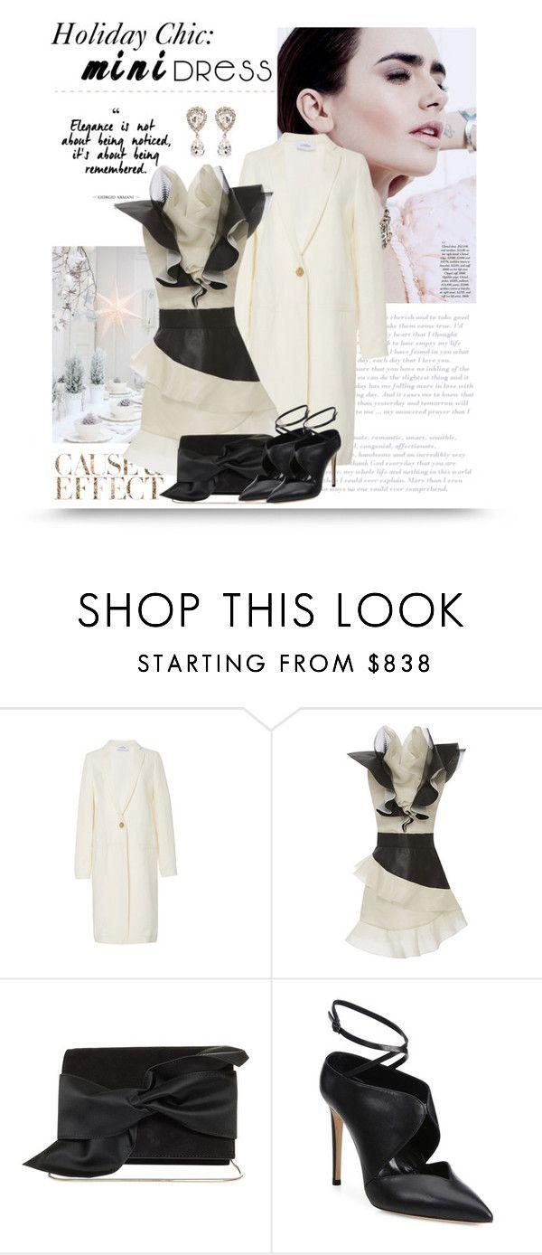"""Holiday Chic: Mini Dresses"" by bliznec ❤ liked on Polyvore featuring Envi:, Emanuel Ungaro, Victoria Beckham, Casadei, Dolce&Gabbana, minidress, polyvoreeditorial and polyvorecontest"