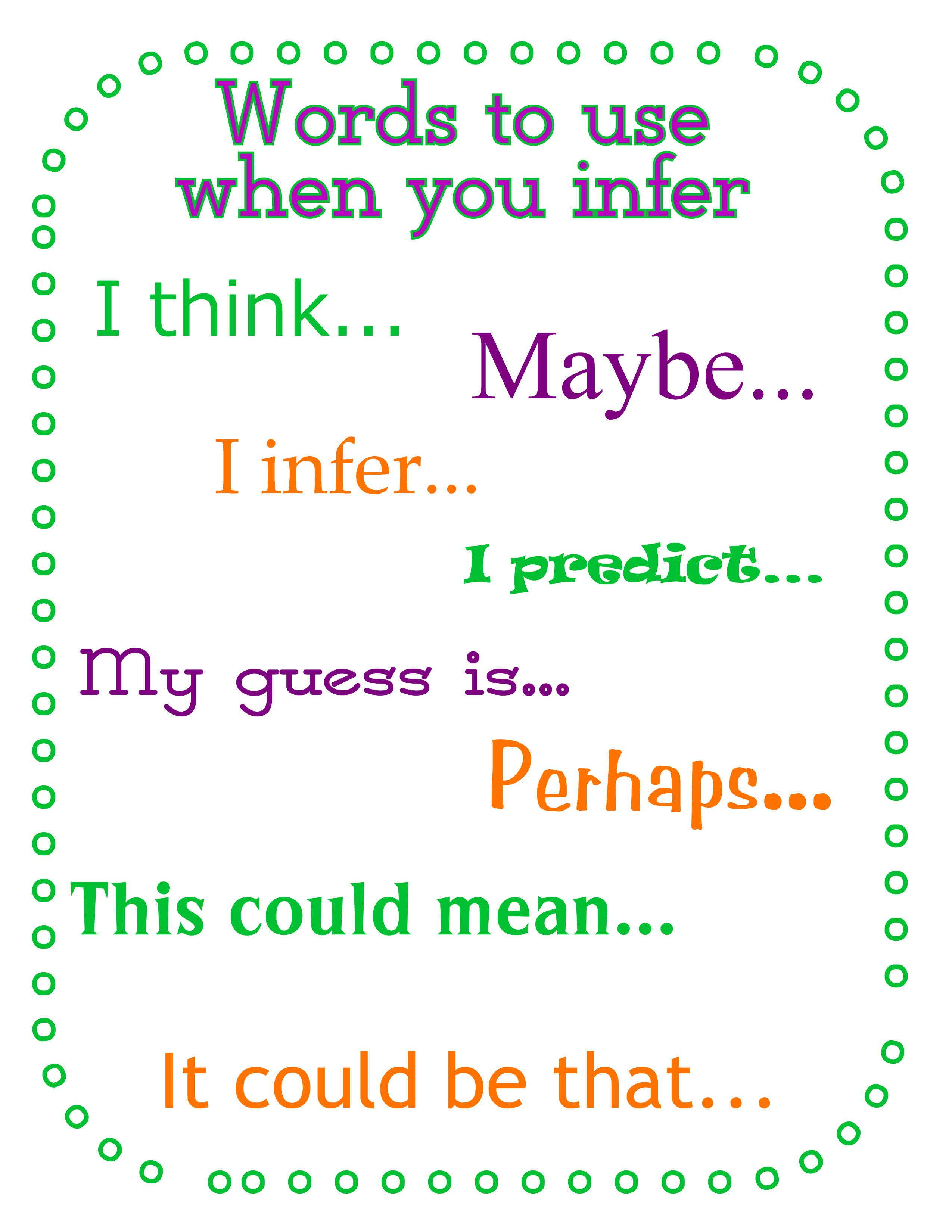 Photos For Inferencing Practice