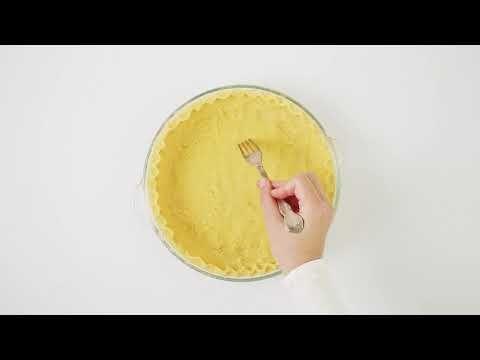 Coconut Flour Pie Crust Recipe - Low Carb & Gluten-Free