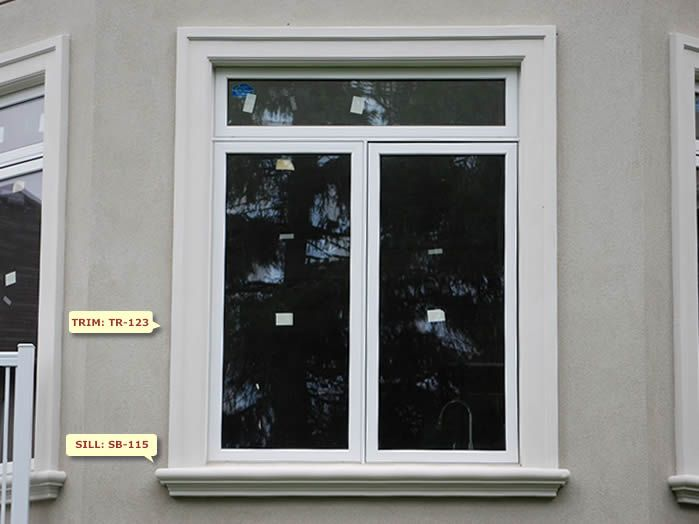 Window Design: W-29 pop out | Window trim exterior, Window ...