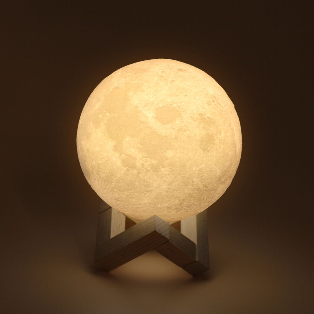 The 3d Moon Lamp 20cm Night Lamps Novelty Lighting Moonlight