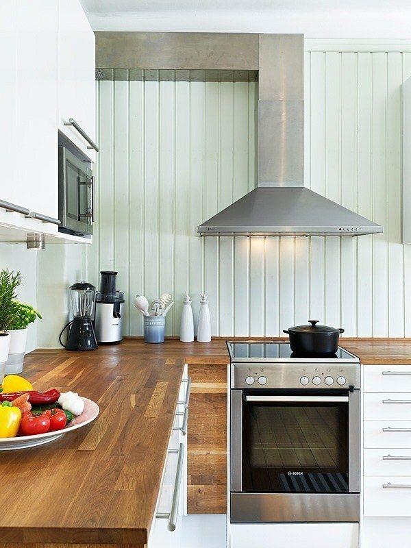 Plan de travail cuisine en 95 idées quel matériau choisir?