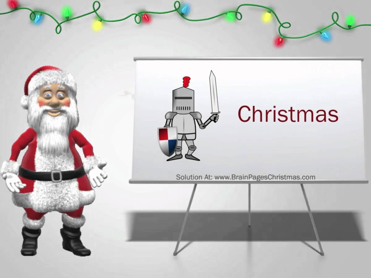 Christmas Brain Teasers And Games