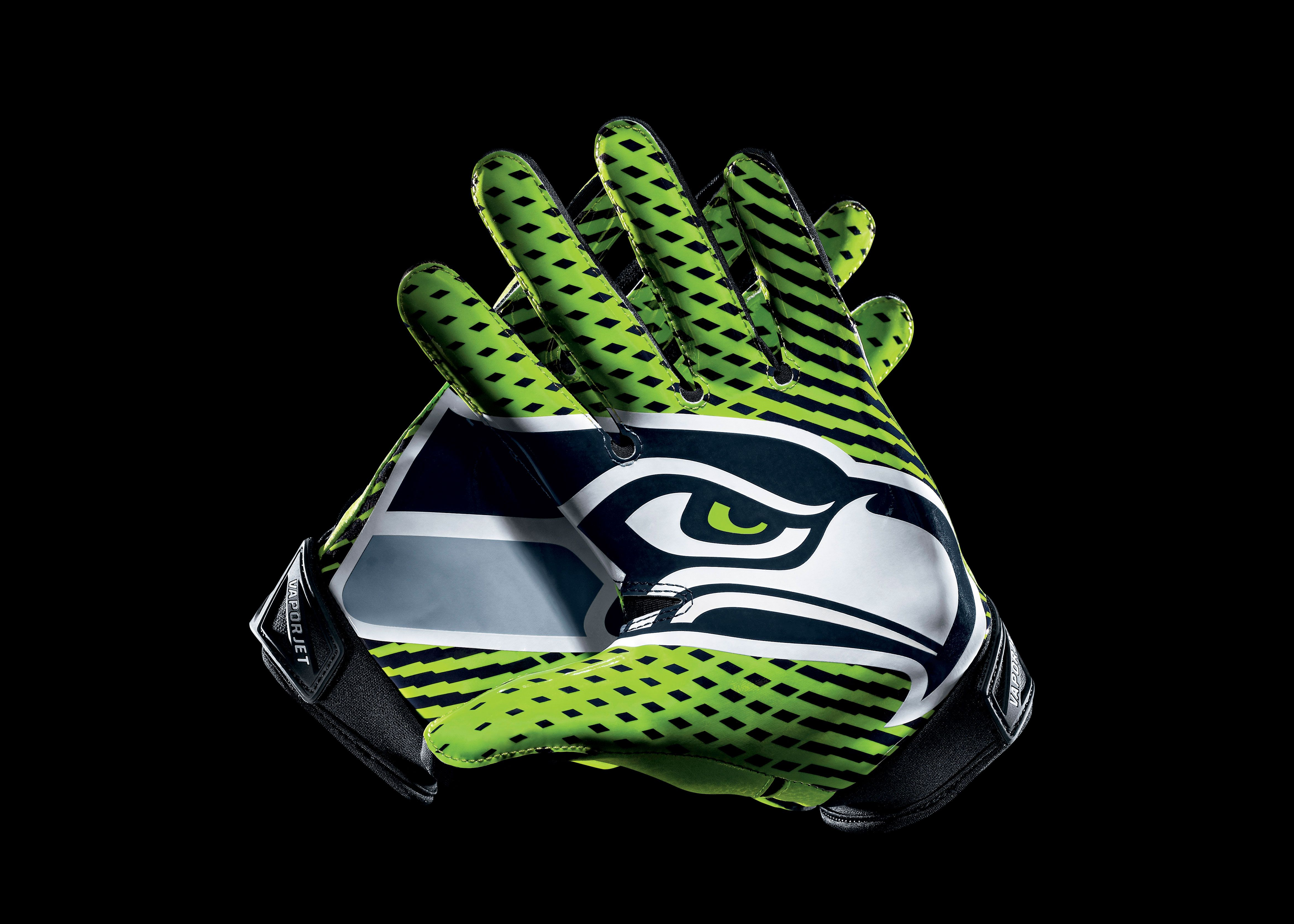 Seattle Seahawks Nike Vapor Jet Glove Picture | Cool Stuff ...