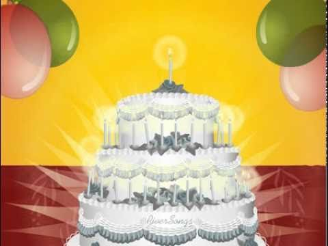 Happy Birthday To You Video w Cake Happy Birthday Cards Wishes – You Tube Birthday Greetings