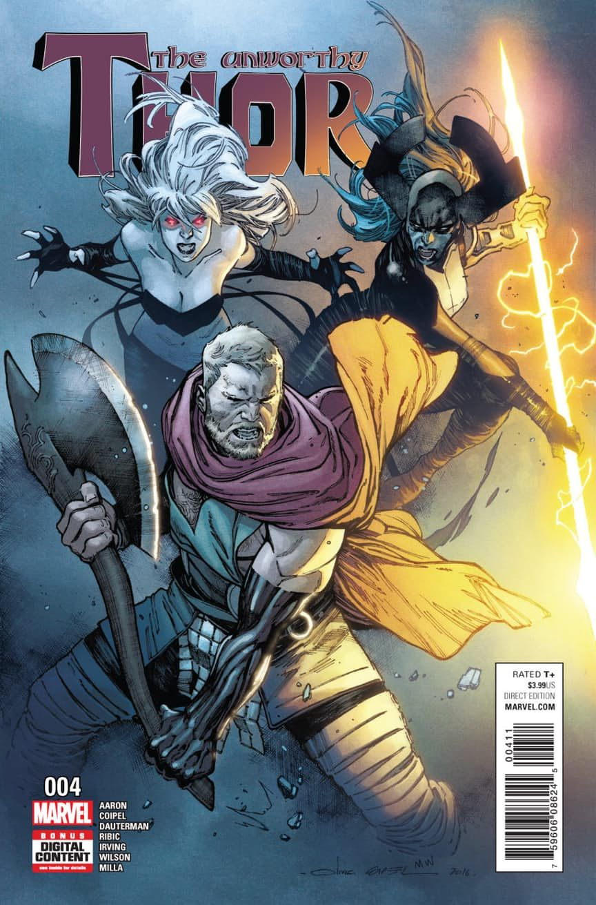 comics thanos and the odinson both want the ultimate thor s