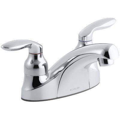 Kohler Coralais Centerset Commercial Bathroom Sink Faucet With