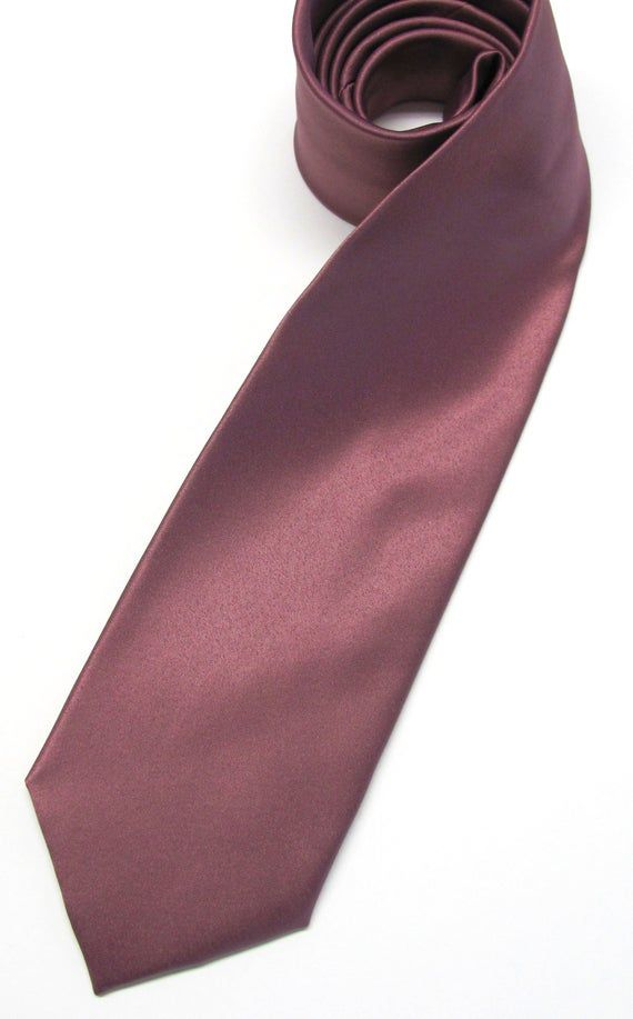 Rosewood Chianti Mens Tie With Matching Pocket Square Option. Rusty Rose Dusty Rose Mens Necktie Poc #pocketsquares